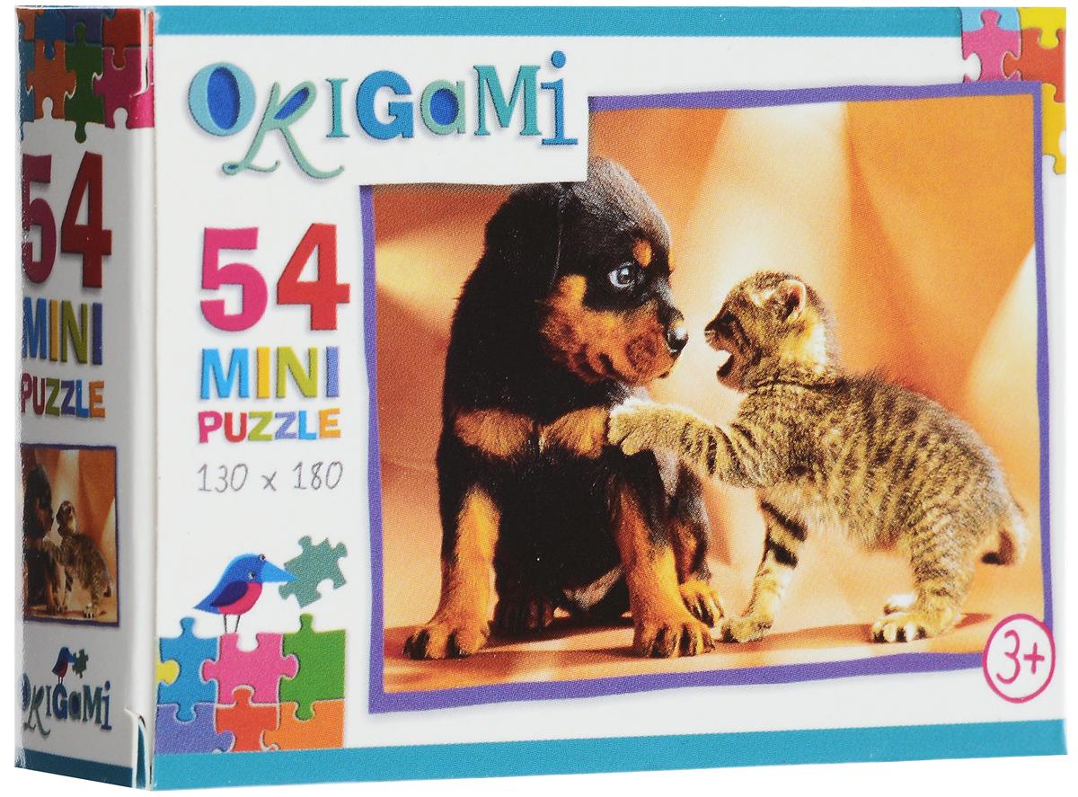 Оригами Пазл для малышей Наши любимцы
