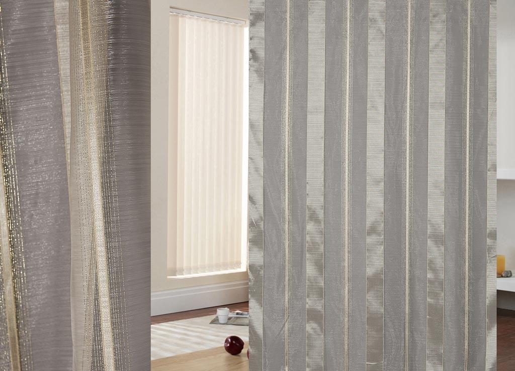 Тюль ТД Текстиль Респект, рисунок полосы, высота 260 см89542Тюль органза строгая классика