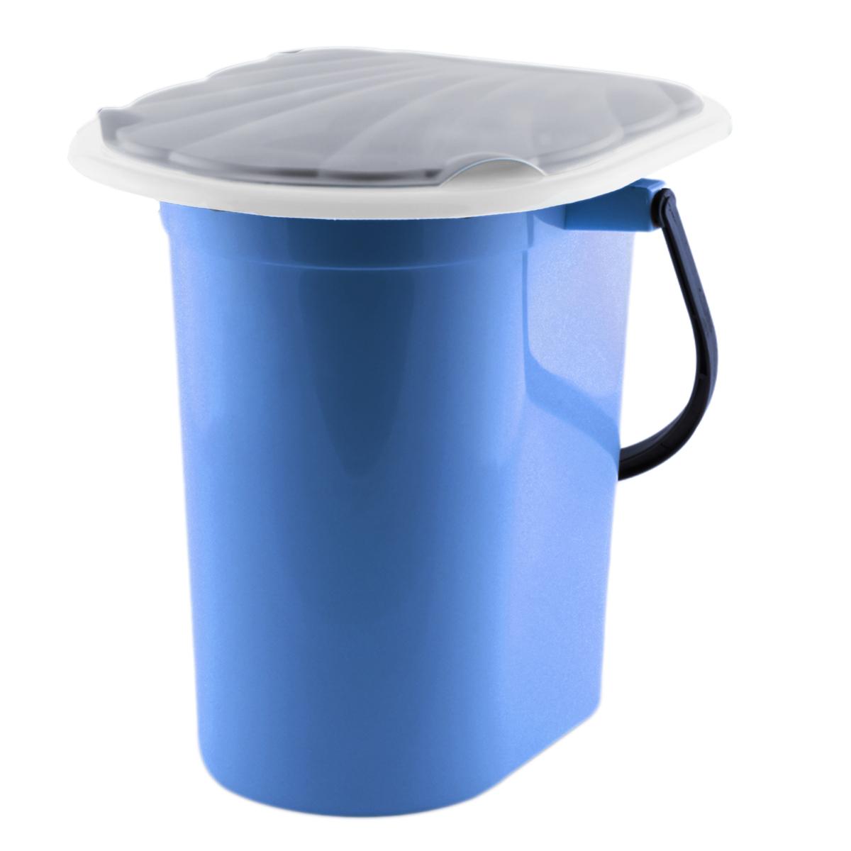 Ведро-туалет InGreen, цвет: синий, серый, 18 лING40000СНВедро-туалет InGreen выполнено из пластика. Это незаменимая вещь на даче, а также для пожилых людей и людей с ограниченными возможностями. Устойчивое и высокое ведро удобно в использовании. Ведро-туалет имеет эргономичное съемное сиденье - это позволит легко его мыть и сушить отдельно. Ведро снабжено крышкой, что препятствует распространению неприятных запахов. Прочный пластик выдержит даже людей с большим весом.