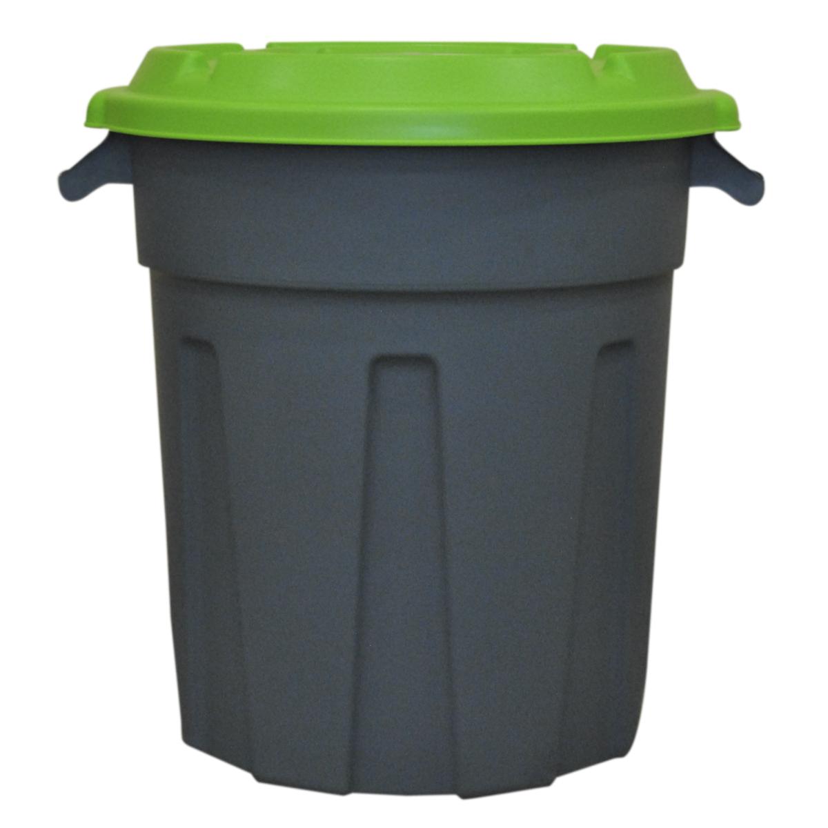 Мусорный бак InGreen, с крышкой, 80 лING6180Пластиковый мусорный бак InGreen предназначен для применения в быту. Изготовлен из материала, обеспечивающего изделию повышенную прочность. Крышка бака обеспечивает плотное закрывание. На дне бака предусмотрена площадка для установки колес. Размер изделия: 57,3 х 50,2 х 67,5 см.