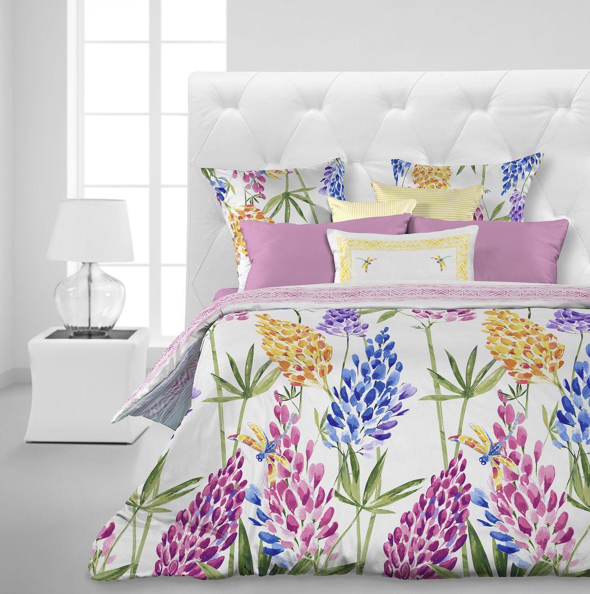 Комплект белья Carte Blanche Lupinus, 1,5-спальный, наволочки 70x70. 335912335912