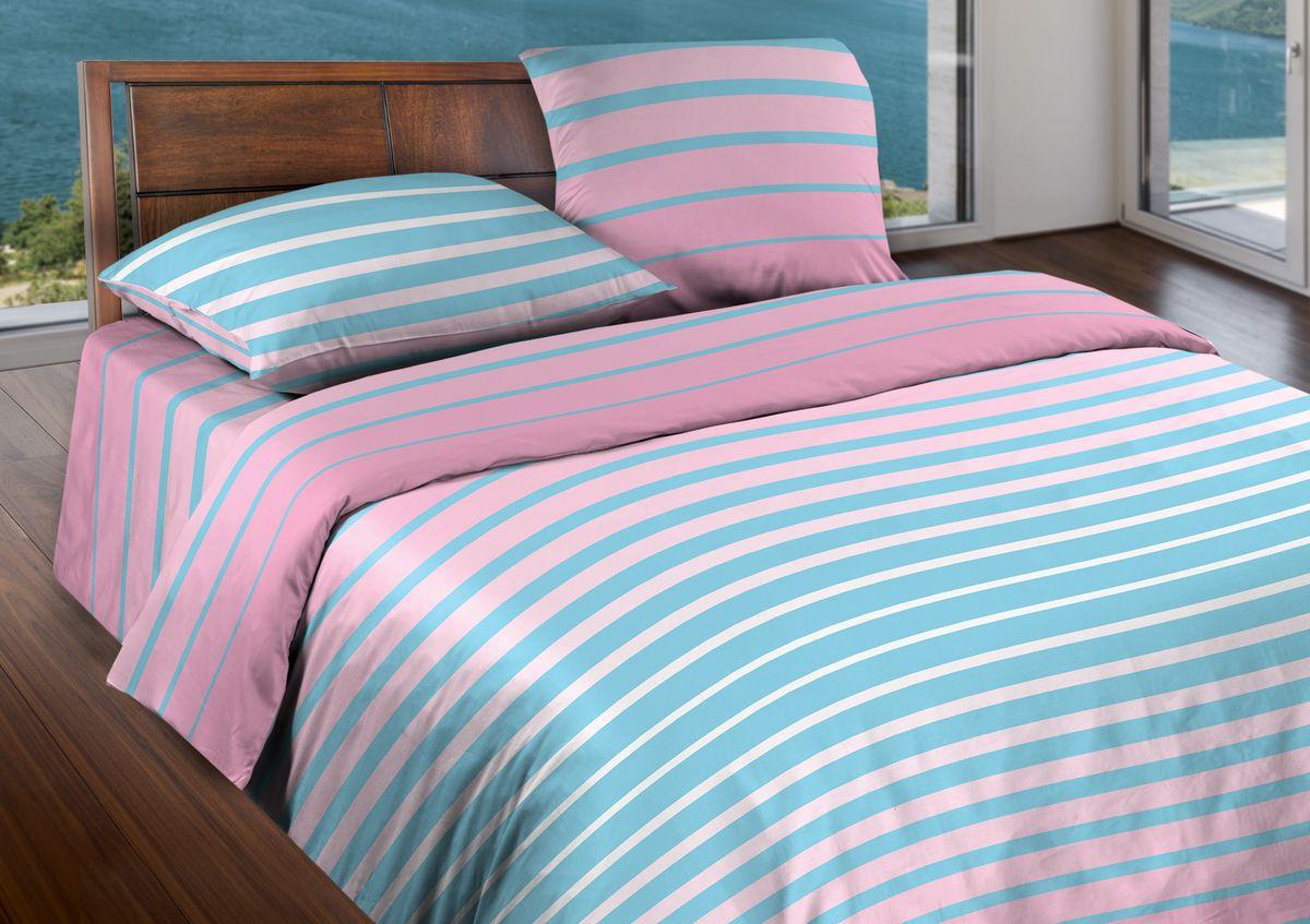 Комплект белья Wenge Stripe, 2-спальный, наволочки 70x70, цвет: голубой361836Бязевое постельное белье состоит из 100% хлопка самого простого полотняного переплетения из достаточно толстых, но мягких нитей. Стоит постельное белье из этой ткани не намного дороже поликоттона или полиэфира, но приятней на ощупь и лучше пропускают воздух. Благодаря современным технологиям окраски, простыни не теряют свой цвет даже после множества стирок. По своим свойствам бязь уступает сатину, что окупается низкой стоимостью и неприхотливостью в уходе.