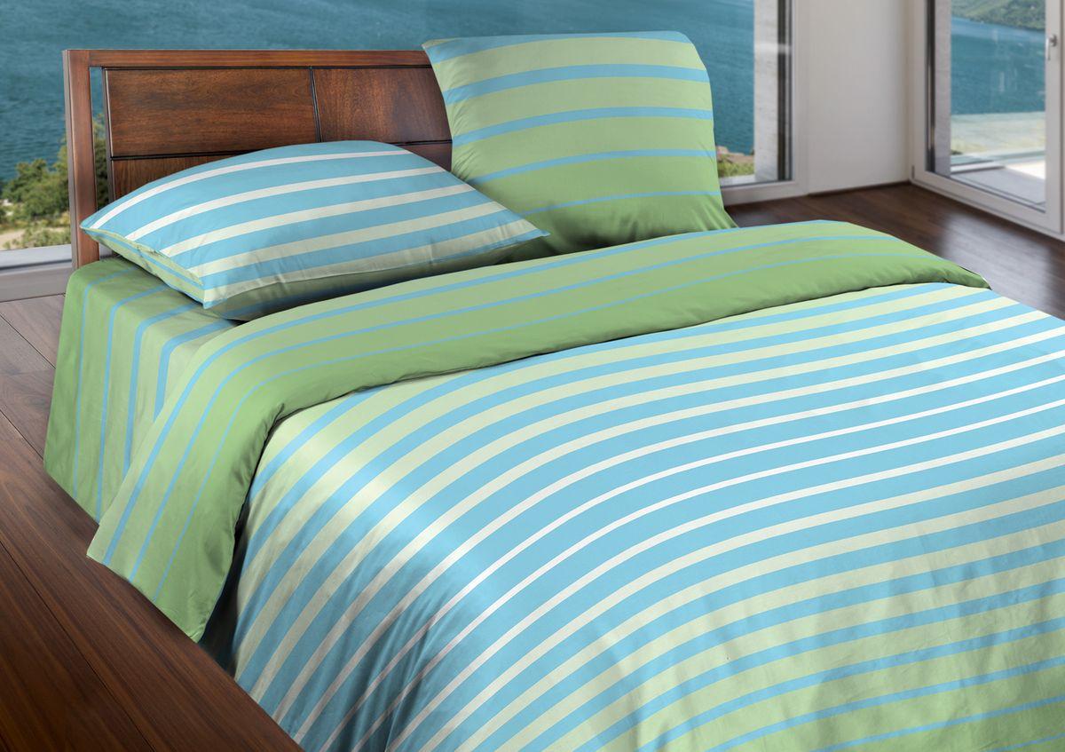 Комплект белья Wenge Stripe, евро, наволочки 70x70, цвет: голубой361859Бязевое постельное белье состоит из 100% хлопка самого простого полотняного переплетения из достаточно толстых, но мягких нитей. Стоит постельное белье из этой ткани не намного дороже поликоттона или полиэфира, но приятней на ощупь и лучше пропускают воздух. Благодаря современным технологиям окраски, простыни не теряют свой цвет даже после множества стирок. По своим свойствам бязь уступает сатину, что окупается низкой стоимостью и неприхотливостью в уходе.