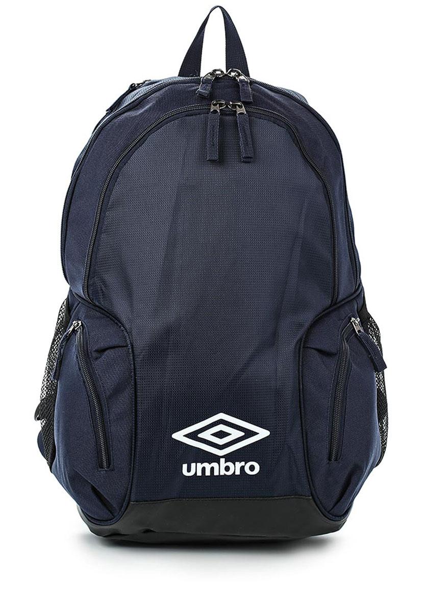 Рюкзак спортивный Umbro Team Premium Backpack, цвет: темно-синий, белый. Размер L. 750115750115