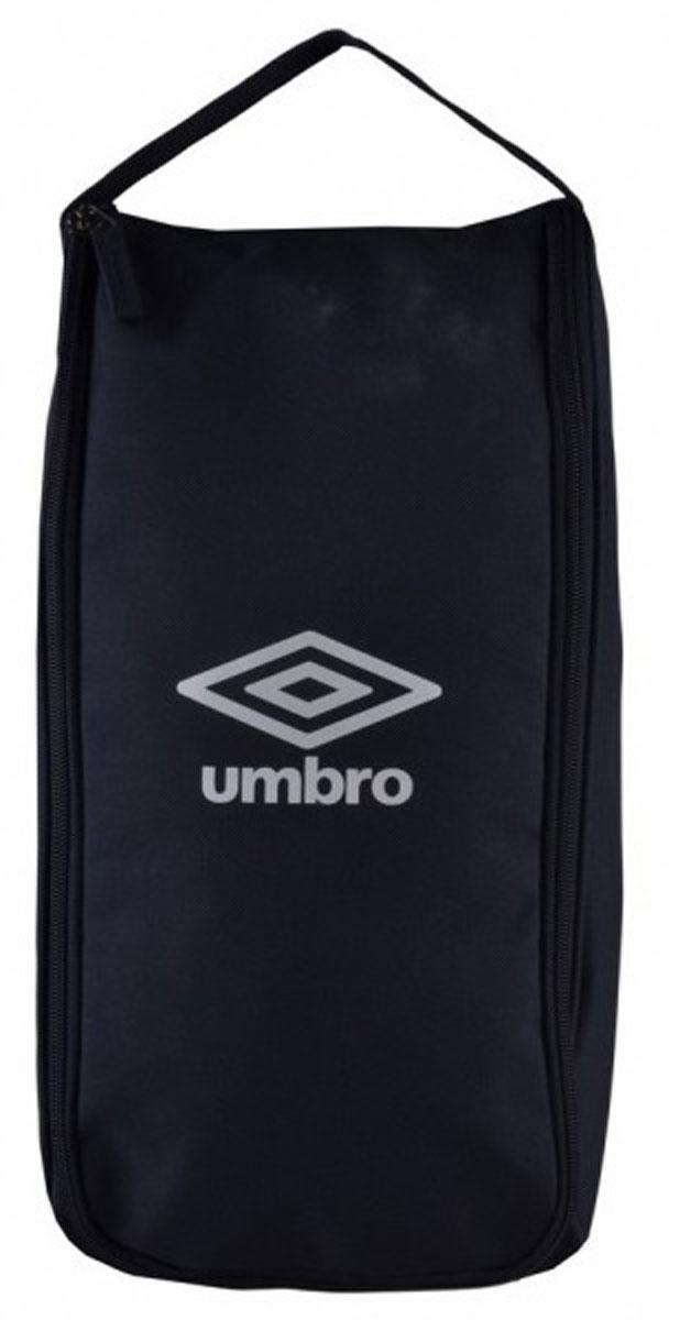 """Сумка спортивная Umbro """"Team Boot Bag"""", для обуви, цвет: темно-синий, белый. Размер S. 751415"""