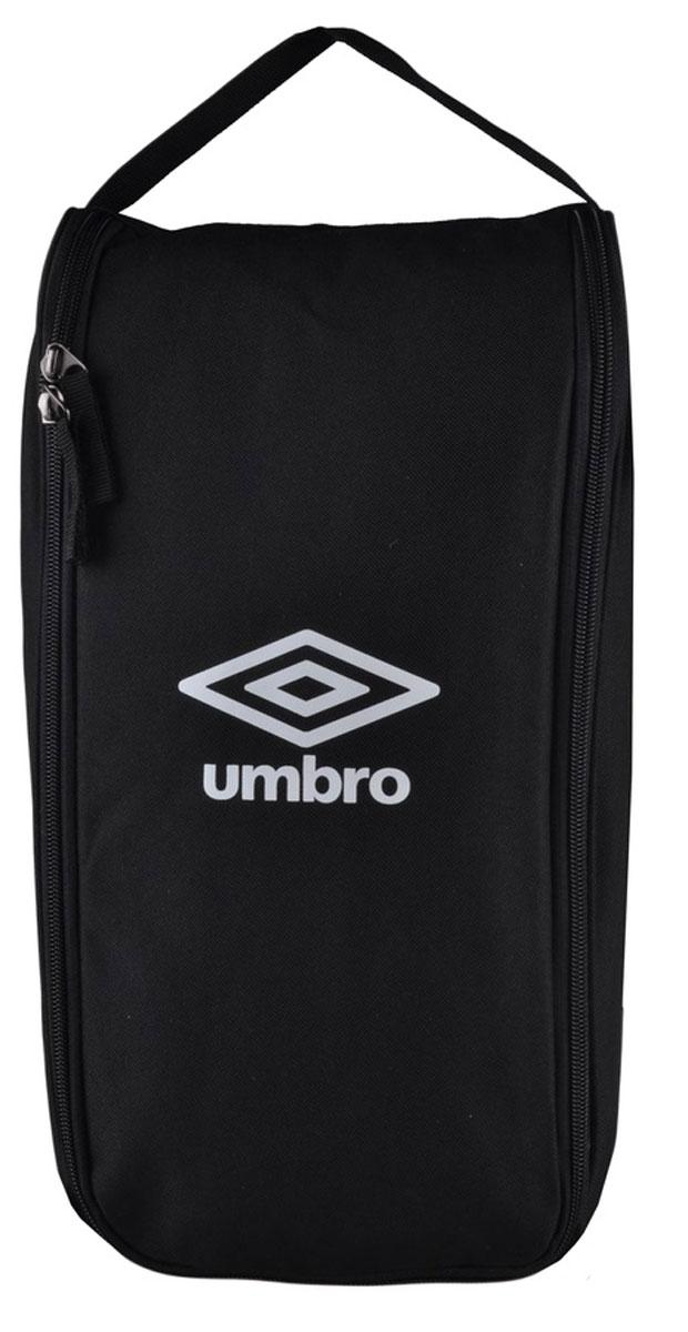 """Сумка спортивная Umbro """"Team Boot Bag"""", для обуви, цвет: черный, белый. Размер S. 751415"""
