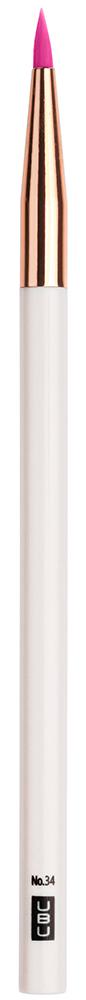 UBU Кисть для подводки, цвет: розовый, золотой19-5035_розовый,золотойКисть для подводки.Тончайший кончик роскошной кисти четко и аккуратно распределяет подводку по контуру глаз,помогая с легкостью создавать совершенный макияж.