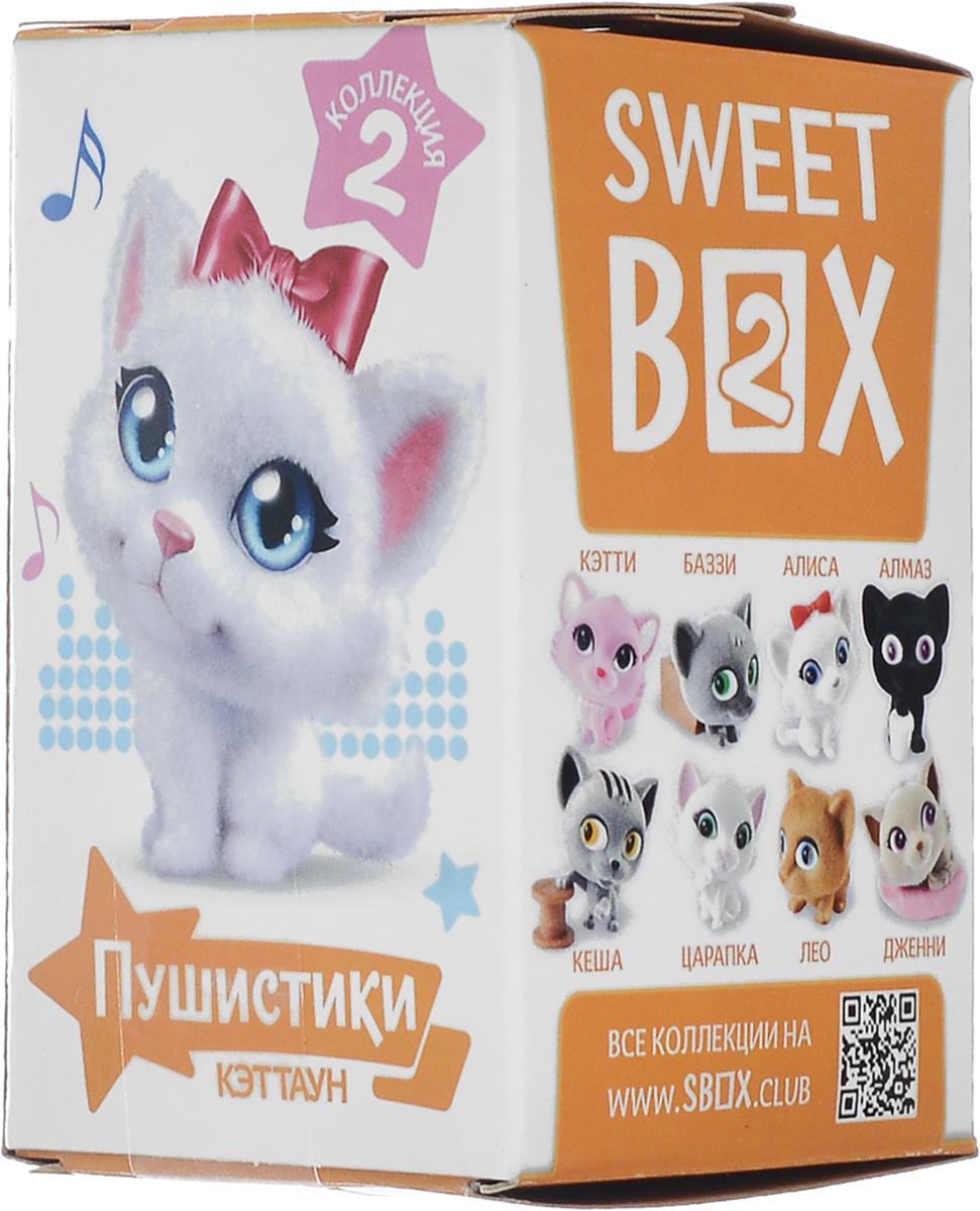 Sweet Box Пушистики Котята жевательный мармелад с игрушкой, 10 гУТ19449.Sweet Box (Сладкая коробочка) - коробочка со сладостями и игрушкой. Свитбоксы популярны среди детей и взрослых, коллекционирующих игрушки. Персонажи коллекций открывают удивительные миры, вовлекают в игру, дарят незабываемые впечатления. Игрушка выполнена из качественного пластика, изображает животное из мультфильма Пушистики. Пока не откроете коробочку - не узнаете, какая игрушка вам попалась! Игрушка предназначена для детей старше трех лет. Уважаемые клиенты! Обращаем ваше внимание, что полный перечень состава продукта представлен на дополнительном изображении.