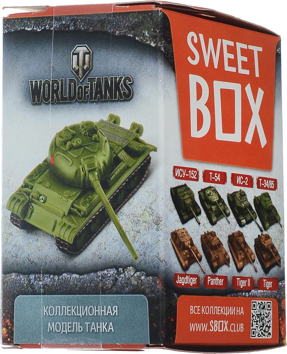 SweetBox World of Tanks мармелад с игрушкой в коробочке, 10 г