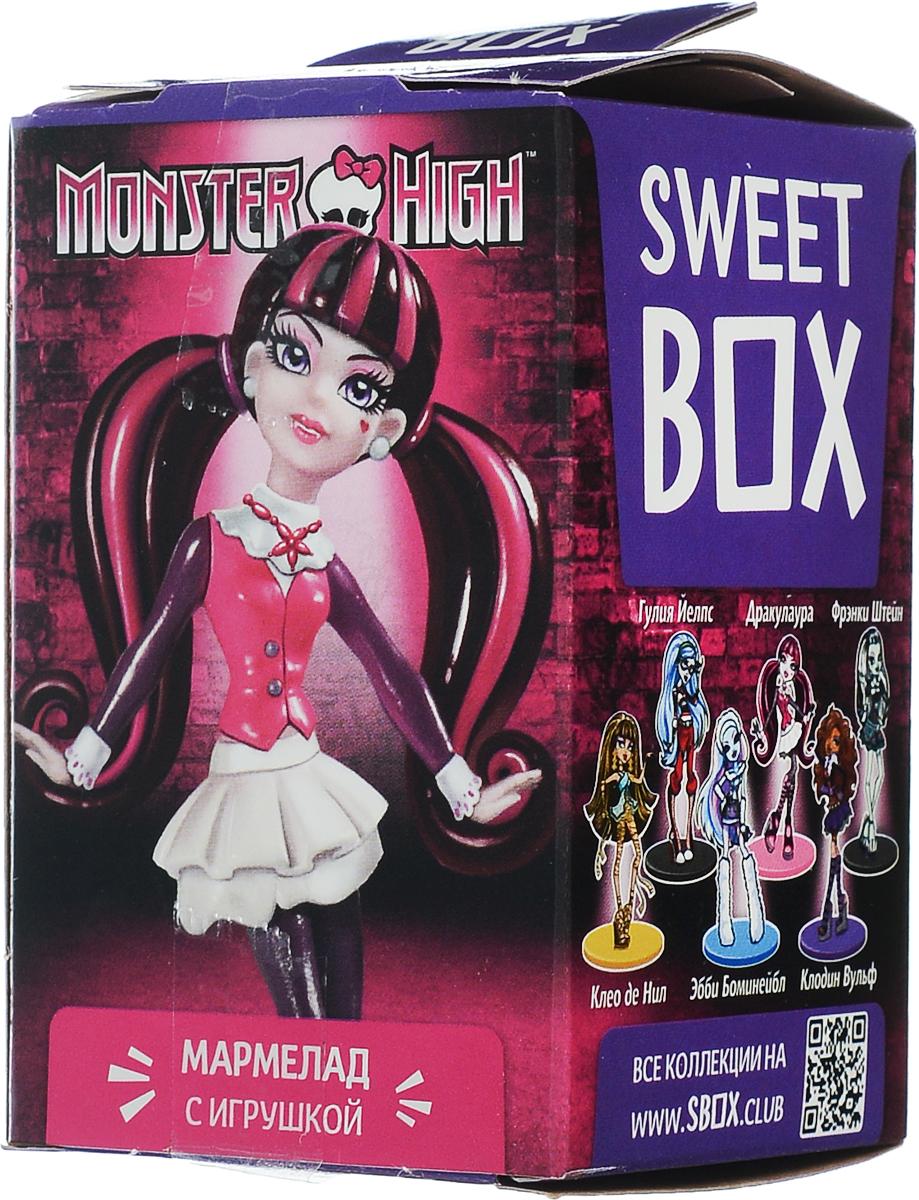 SweetBox Monster High мармелад с игрушкой в коробочке, 10 г