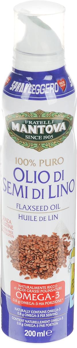 Fratelli Mantova масло льняное спрей, 200 мл