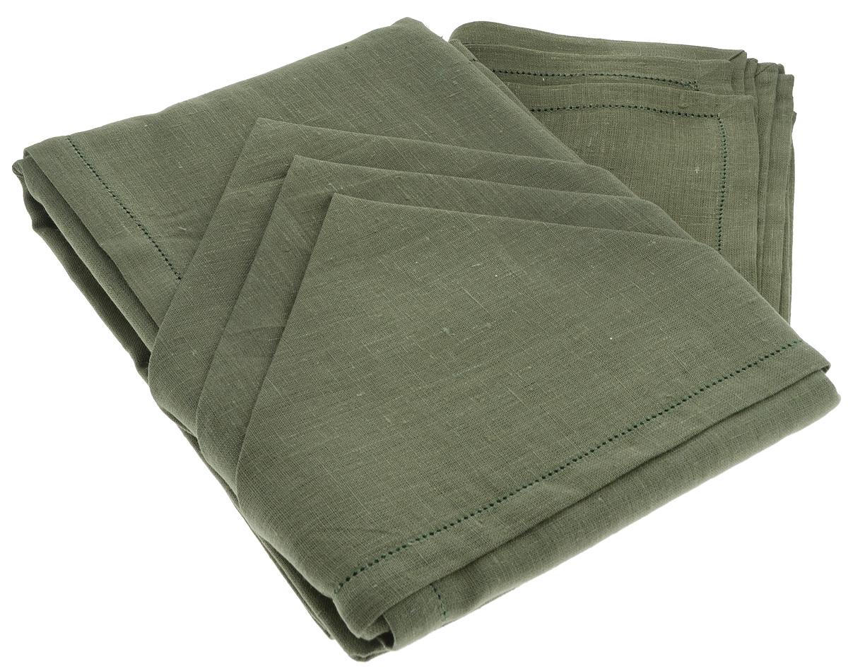 Комплект столовый Гаврилов-Ямский Лен, цвет: темно-зеленый, 13 предметов10со6863Элегантный столовый комплект Гаврилов-Ямский Лен, выполненный из 100% льна, состоит из скатерти и двенадцати салфеток. Лён - поистине, уникальный экологически чистый материал. Изделия из льна обладают уникальными потребительскими свойствами. Такой комплект порадует вас невероятно долгим сроком службы. Столовый комплект Гаврилов-Ямский Лен придаст вашему дому уют и тепло. Размер скатерти: 140 х 250 см. Размер салфетки: 42 х 42 см.