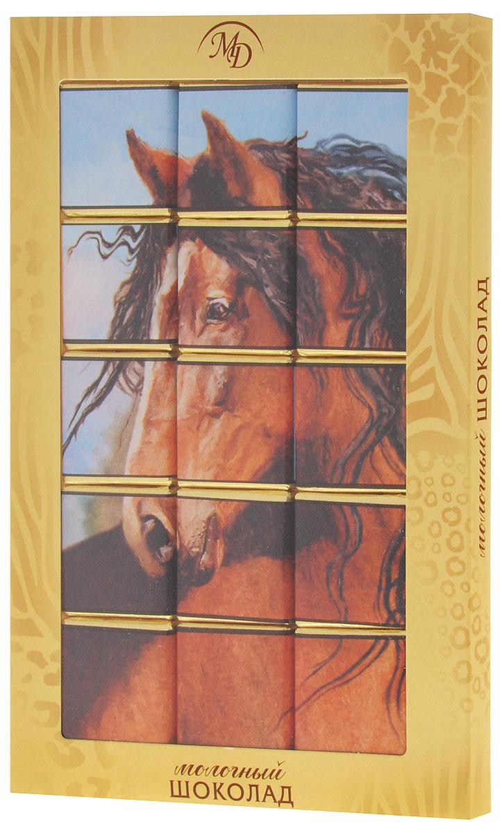 Монетный двор Животные набор молочного шоколада, 75 г (пазл)