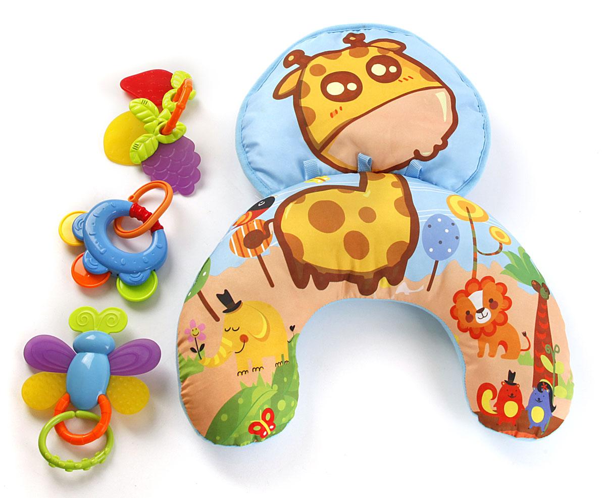 Жирафики Развивающий коврик Веселый Жирафик