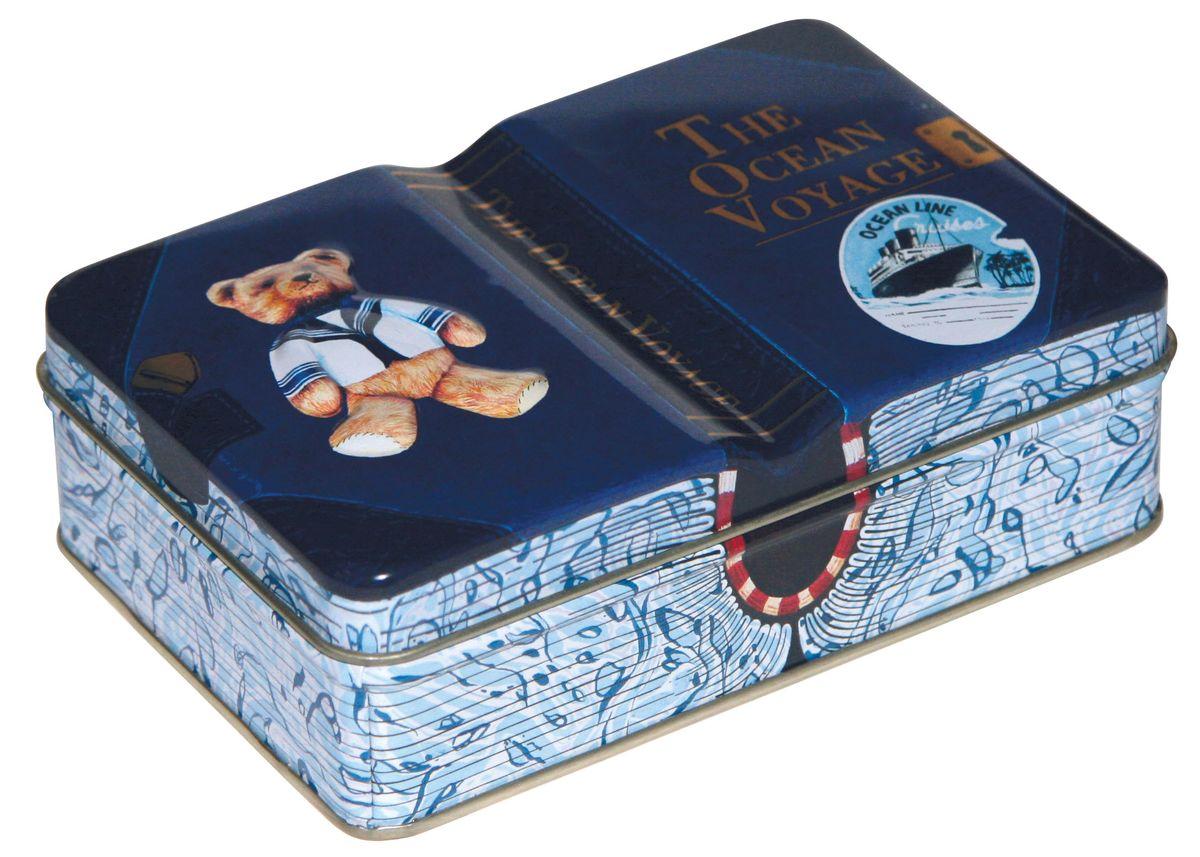 Сладкая Сказка Мишкины путешествия шоколадные конфеты синяя коробка, 110 гLX-10Шоколадные конфеты упакованы в подарочную банку оригинального дизайна и созданы как презент к любому празднику. Пустую банку можно использовать в качестве шкатулки.