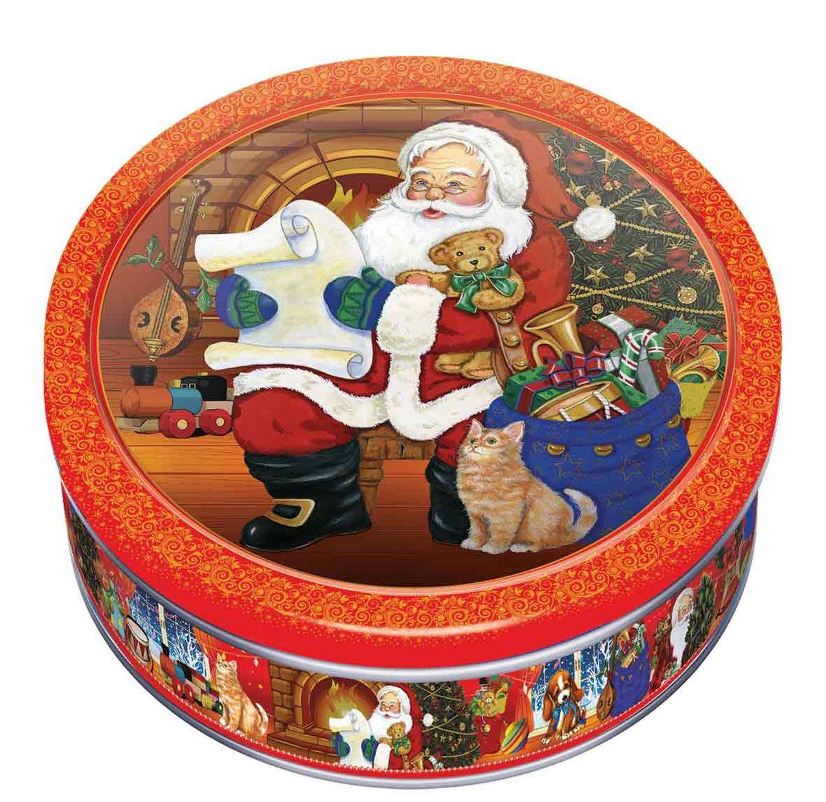 100% сдобное печенье со сливочным маслом создано как подарок к Новому году и Рождеству. Изготовлено на фабрике «МАК-Иваново», принадлежащей ГК «Сладкая сказка». Полный цикл производства включает также изготовление самой банки.