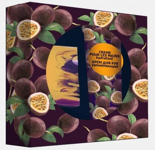 Кафе Красоты Подарочный набор: Мандариновый джас (тв мыло 100г, крем для рук 75мл,)