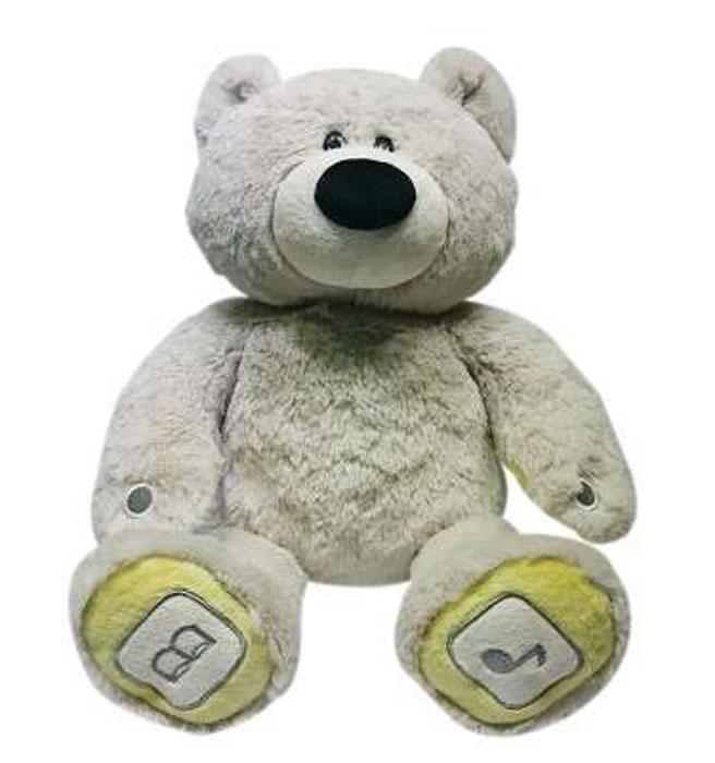 Luvn Learn Интерактивная игрушка Медведь цвет серый20010LИнтерактивная игрушка Luvn Learn Медведь - это игрушка нового поколения, которая не только подарит вашему малышу море приятных эмоций, но и обеспечит фантастический интерактивный, образовательный и игровой опыт! Мишка Luv`n Learn может стать настоящим другом ребёнка, поприветствовать, рассказать сказку, спеть песенку, научит малыша читать и считать, развлечет весёлой игрой. Ведь это не просто симпатичная мягкая игрушка, а многофункциональное высокотехнологичное обучающее и развивающее устройство, оснащенное микрофоном, динамиком, собственной картой памяти, беспроводной технологией передачи данных между двумя устройствами (Bluetooth), совместимое с компьютером и другими современными гаджетами (планшет, смартфон). Интересной особенностью этой игрушки является то, что вы можете управлять медведем с помощью мобильного устройства, а также управлять мобильным устройством с помощью медведя. Взаимодействие игрушки с планшетом или смартфоном осуществляется с помощью Bluetooth и...