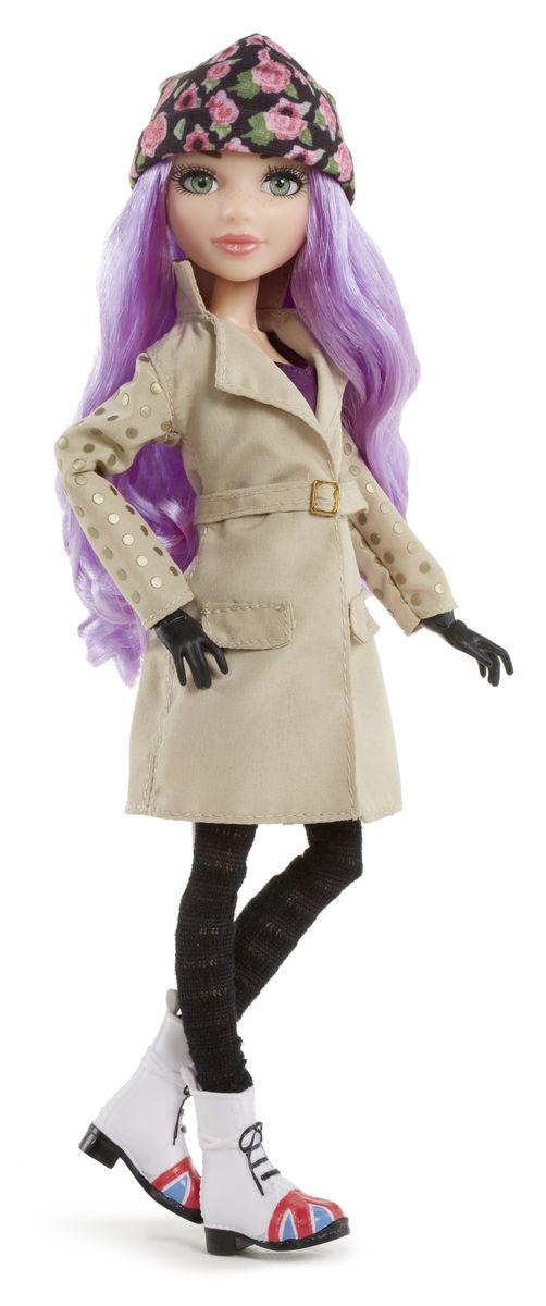 MС2 Кукла МакКейла 539179539179Кукла MС2 МакКейла создана по мотивам телесериала для девочек Project MC2. Она выглядит очень ярко и эффектно. У нее длинные фиолетовые волосы, красивое лицо с элегантным макияжем и невероятно живые глаза. МакКейла одета в модное бежевое пальто с блестящими кругами на рукавах, тонкие черные джинсы, белые Мартинсы с изображением британского флага и вязанную цветную шапочку. Кукла имеет подвижные суставы: колени, бедра, запястья, локти, плечи, шею. Она может принимать различные позы, а значит сюжетно- ролевая игра с ней станет еще более интересной и увлекательной. В комплекте с куклой идут различные игровые аксессуары и набор для создания исчезающих чернил. Ваш ребенок сможет провести эксперимент в домашних условиях. Порадуйте вашего ребенка таким прекрасным подарком.