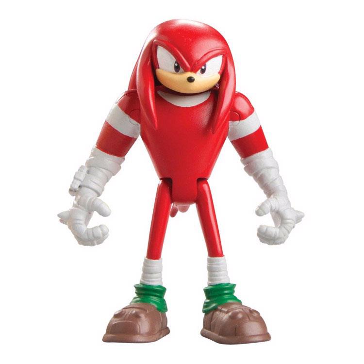 Sonic Boom Фигурка НаклзT22002Фигурка Sonic Boom Наклз выполнена из безопасного пластика в виде персонажа мультфильма Sonic Boom. У фигурки подвижные руки, ноги и голова. Такая фигурка непременно придется по душе вашему ребенку и станет замечательным украшением любой коллекции. Миниатюрная фигурка полная копия своего мультипликационного прототипа. Наклз - один из самых сильных персонажей мультфильма, как и Соник. Его сила позволяет ему, например, пробивать дыры в толстой стали, разбивать камни на маленькие кусочки и поднимать предметы, во много раз превышающие его собственный размер и вес. Он умеет парить в воздухе, карабкаться по вертикальным поверхностям и закапываться в стены и землю (с помощью боевых рукавиц или когтей для копания). С такой фигуркой ваш ребенок сможет придумывать и разыгрывать свои собственные приключения!