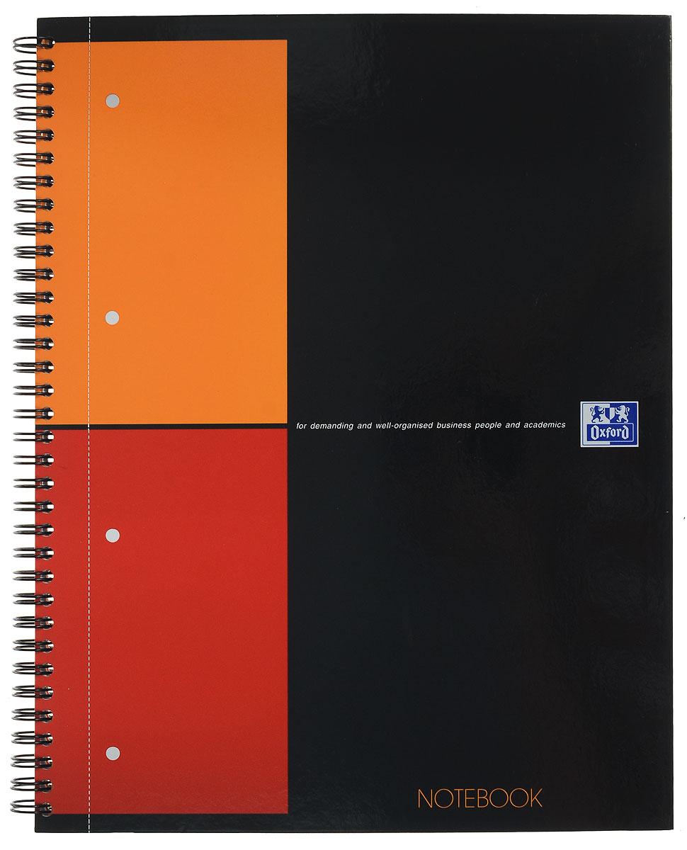 Oxford Тетрадь International Notebook 80 листов в клетку формат А4+357001201Практичная тетрадь Oxford International Notebook отлично подойдет для офиса и учебы. Тетрадь формата А4+ состоит из 80 белых листов с четкой яркой линовкой в клетку. Обложка тетради выполнена из плотного глянцевого картона. Вертикальная микроперфорация позволяет аккуратно отрывать ненужные листы и подшивать их в папки.
