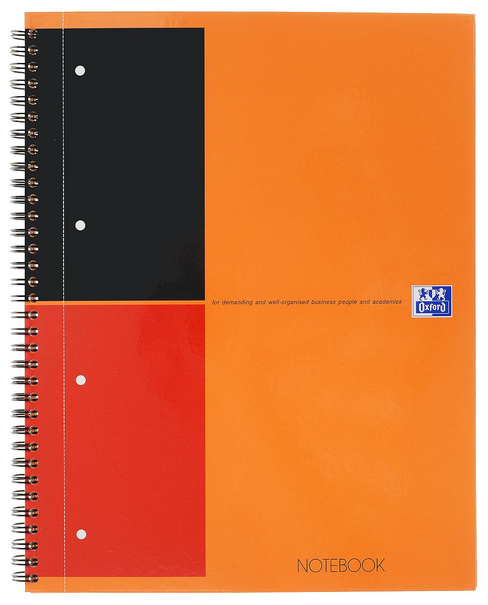 Oxford Тетрадь International Notebook 80 листов в линейку цвет оранжевый формат А4+100104036Практичная тетрадь Oxford International Notebook отлично подойдет для офиса и учебы. Тетрадь формата А4+ состоит из 80 белых листов с четкой яркой линовкой в линейку. Обложка тетради выполнена из плотного глянцевого картона. Вертикальная микроперфорация позволяет аккуратно отрывать ненужные листы и подшивать их в папки.