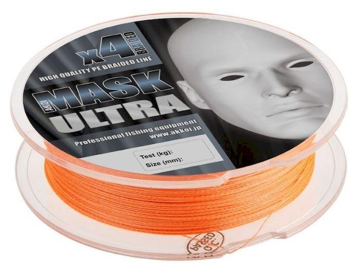 Леска плетеная (шнур) Akkoi Mask Ultra X4-100, цвет: оранжевый (orange), 4 нити, d0,08 мм, нагрузка 2,73 кгMU4О100-08Леска плетеная Akkoi Mask Ultra X4-100 (orange) d0,08mm / 2,73 кг. Дословно ultra light переводится как – сверхлегкий. Этот класс ловли спиннингом очень популярен во всем мире. Во главе угла стоит уменьшение веса во всем: в удилище, катушке, приманках и снастях. Но, зачастую, бороться приходиться с трофейной рыбой, отсюда предъявляются повышенные требования к прочности и надежности снастей, а это ведет к высокой стоимости. Плетеный шнур Akkoi Mask Ultra создан с учетом всех требований этого класса. Материал Super PE с высокой плотностью плетения имеет специальную обработку для большего скольжения и максимально устойчив к абразивному воздействию. Шнур четырехжильный, в размотке 100 метров и двух вариациях цветов. Диапазон диаметров тоже разработан с учетом класса ловли ультралайт - лайт — от 0,06 до 0,20 мм. Ультралегкий, ультрапрочный, ультраклассный и ультрадоступный, но главное — имеет самое хорошее соотношение цена - качество в своем сегменте.