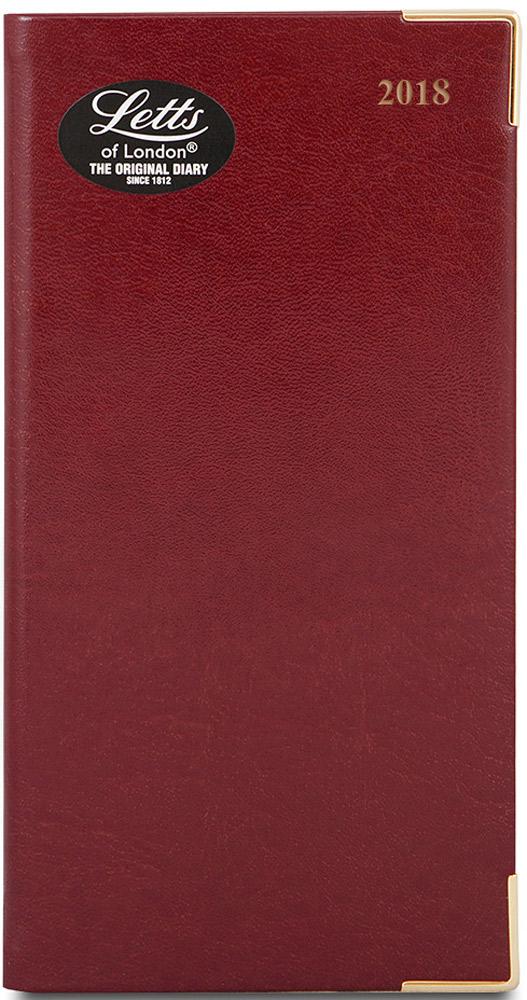 Letts Ежедневник Lexicon 2017 датированный 64 листа цвет бордовый формат А6412128343Компактный ежедневник Letts Lexicon 2017 - идеально подойдёт тем, кто ценит настоящую английскую классику. Ежедневник выполнен в твердом переплете из искусственной кожи, которую сложно отличить от натуральной. Позолоченный срез страниц, уголки и золотое тиснение на обложке ежедневника подчеркнут респектабельный стиль владельца. Каждая страница ежедневника имеет почасовую и календарную нумерацию. На каждый час отведено по 1 строчке. На первых и последних страницах ежедневника представлен информационный блок. Он включает национальные праздники, календарь с 2016 по 2018 год, международные коды, часовые пояса, систему мер, длины и веса, размеры одежды, телефонную книгу и цветную карту мира. Ежедневники Letts Lexicon 2017 - это высочайшее качество, стиль, динамичность и оригинальность.