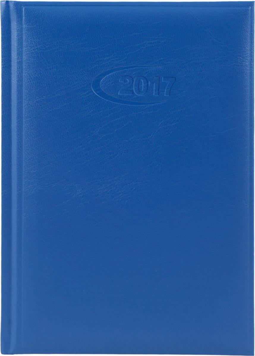 Letts Ежедневник Commercial Diary 2017 датированный 176 листов цвет синий412900020Прочный ежедневник Letts Commercial Diary 2017 идеально подойдёт тем, кто ценит настоящую английскую классику. Ежедневник выполнен в твердом переплете из искусственной кожи, которую сложно отличить от натуральной. Оригинальное тиснение, шелковая закладка-разделитель и перфорированные уголки подчеркнут респектабельный стиль владельца. Каждая страница ежедневника имеет почасовую и календарную нумерацию. На каждый час отведено по 2 строчки, а в нижней части страницы находится 8 строчек для самых разных заметок. На первых страницах ежедневника представлены место для заполнения личных данных владельца и информационный блок. Последний включает аэропорты Европы, международные коды, часовые пояса, национальные праздники, график отпусков и календари 2016-2018. В конце ежедневника представлены блок Перспективное планирование с календарями 2019-2021, телефонная книга и справочная информация. Ежедневники Letts Commercial Diary 2017 - это высочайшая динамичность,...