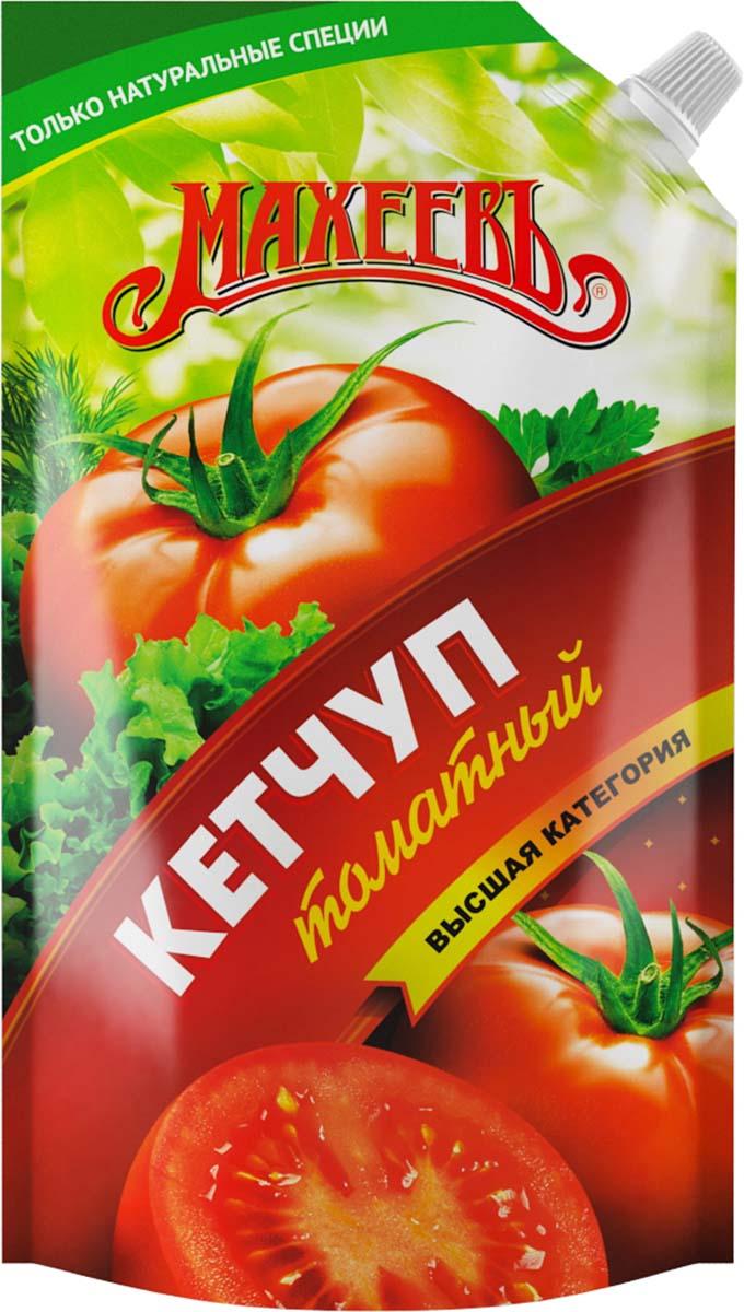 Махеев кетчуп томатный без сахара и крахмала, 260 г