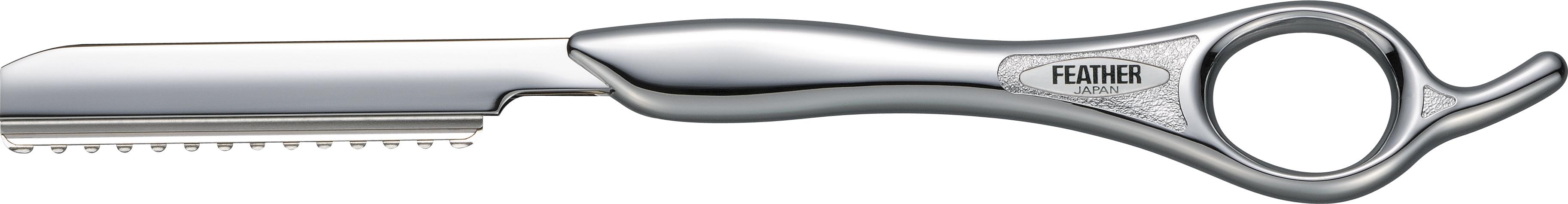 Feather Классическая филировочная бритва SR-S серебристаяS4250811Серия Styling Razor - это любимые бритвы для стрижки волос среди парикмахеров по всему миру. Благодаря тонкому наклонному срезу, который дает бритва, концы волос отлично падают по форме стрижки, создавая красивую текстуру. Для получения оптимального угла кромки каждое лезвие проходит тройную заточку. Лезвия не только остры, но и долговечны, благодаря своему двойному покрытию из платинового сплава и каучука. Платиновый сплав увеличивает долговечность лезвия, а каучуковое покрытие снижает трение.