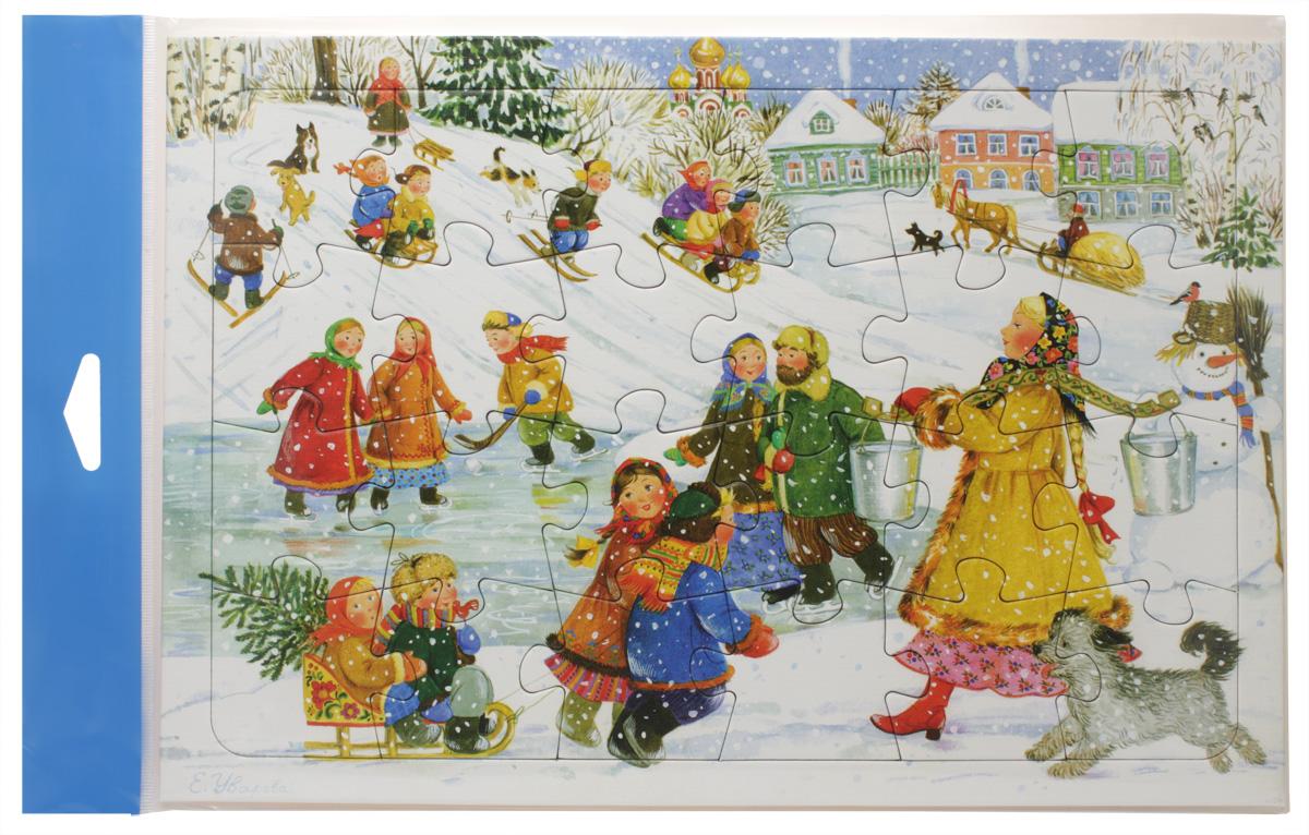 Умная бумага Пазл для малышей Каток4627081551526Для самых маленьких из детишек у бренда «Умная бумага» есть специальная категория продукции, выпущенная в виде ярких и красочных пазлов-рамок. По сути, эти картонные игрушки представляют собой обычные пазлы, единственной отличительной особенностью их является то, что они укладываются в рамку. Это сделано специально для того, чтобы маленькому человечку было комфортно и легко соединять элементы. Так они не будут ездить по поверхности и создавать для ребенка трудности. «Каток» - это пазл-рамка, который может быть презентован даже полуторагодовалому крохе. Объясните малышу принцип сборки, и он легко самостоятельно соберет из 24 картонных элементов картинку. И само изображение катка и радостных детишек, и игровой процесс наверняка понравятся крохе. Кроме того, пазл поможет ребенку стать более усидчивым и внимательным. Возраст: от 18 месяцев Материал: картон Размеры: 20х28 см Количество деталей: 24шт.