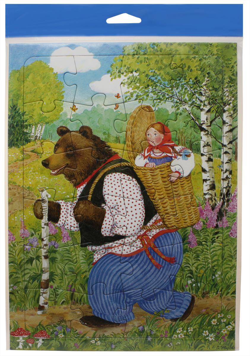 Умная бумага Пазл для малышей Машенька и Медведь4627081553896«Машенька и медведь» - такая игрушка может быть подарена даже самому маленькому крохе, начиная от полутора лет и старше. Главное - объяснить малышу принцип соединения элементов и помочь ему в выполнении задания. Картинка состоит из 35 деталей. Каждая выполнена из очень качественного картона. Все элементы укладываются в рамку. Это было сделано для того, чтобы картинка хорошо фиксировалась и не скользила по поверхности, что могло бы создать дискомфорт для малыша. Во время увлекательного, творческого процесса ребенок проявит внимательность и станет более усидчивым. И сама картинка, и творческий процесс очень понравятся малышу. Главное - объяснить ему принцип соединения элементов. Возраст: от 18 месяцев Материал: картон Размеры: 20х28 см Количество деталей: 35 шт.