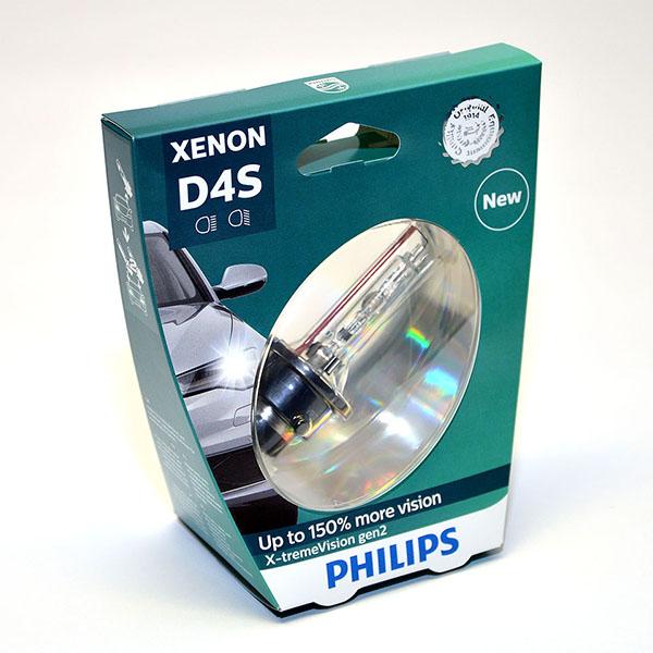 Лампа автомобильная ксеноновая Philips WhiteVision gen2, цоколь D4S, 85 Вт. 42402 XV2S142402 XV2S1? Мощный равномерный яркий белый свет ? Идеально сочетается со светодиодным освещением вашей машины ? Белый свет до 5000K на дороге ? Улучшение видимости на 120%* ? Лампа, разрешенная для использования на дорогах общего пользования С лампами Philips Xenon WhiteVision gen2 машина становится более заметной, а освещение дороги более ярким и равномерным. Xenon WhiteVision gen2 — идеальный выбор, если вы хотите сочетать ксенон со светодиодным освещением автомобиля.