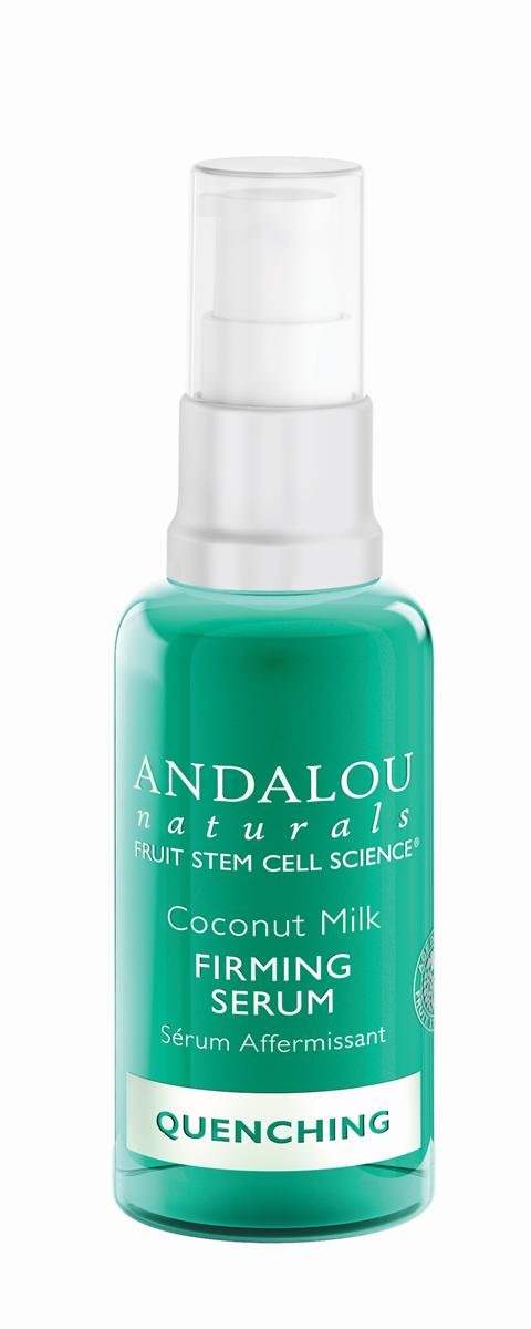 ANDALOU Укрепляющая сыворотка с экстрактами кактуса Коллекция Кокосовая,30 мл25620Для обезвоженной, раздражённой, воспалённой кожи. В составе укрепляющей сывороткки кокосовое молочко, аминокислоты, незаменимые жирные кислоты. Сыворотка увлажняет, укрепляет и смягчает кожу, улучшает внешний вид и текстуру кожи. AquaCacteen, полученный из Опунции (семейство кактусовых), питает и успокаивает, насыщает кожу необходимыми аминокислотами, белками, витаминами и минералами, чтобы поддерживать здоровый рост клеток. Обладает уникальными водосвязывающими свойствами, удерживает питательные вещества. За счёт этого обеспечивается длительное увлажнение, кожа становится подтянутой и эластичной. Ингредиент сертифицирован ECOCERT.