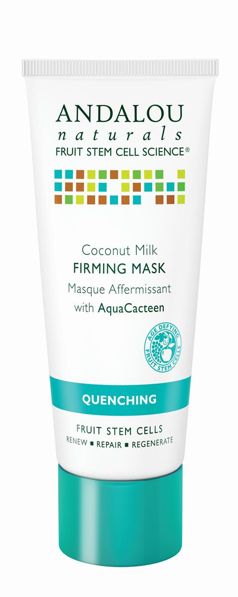 ANDALOU Маска для лица с экстрактами кактуса Коллекция Кокосовая,53 мл25640Для обезвоженной, раздражённой, воспалённой кожи. В составе богатой питательными веществами маске кокосовое молочко, аминокислоты, незаменимые жирные кислоты. Маска увлажняет, укрепляет и смягчает кожу, улучшает внешний вид и текстуру кожи. AquaCacteen, полученный из Опунции (семейство кактусовых), питает и успокаивает, насыщает кожу необходимыми аминокислотами, белками, витаминами и минералами, чтобы поддерживать здоровый рост клеток. Обладает уникальными водосвязывающими свойствами, удерживает питательные вещества. За счёт этого обеспечивается длительное увлажнение, кожа становится подтянутой и эластичной. Ингредиент сертифицирован ECOCERT.