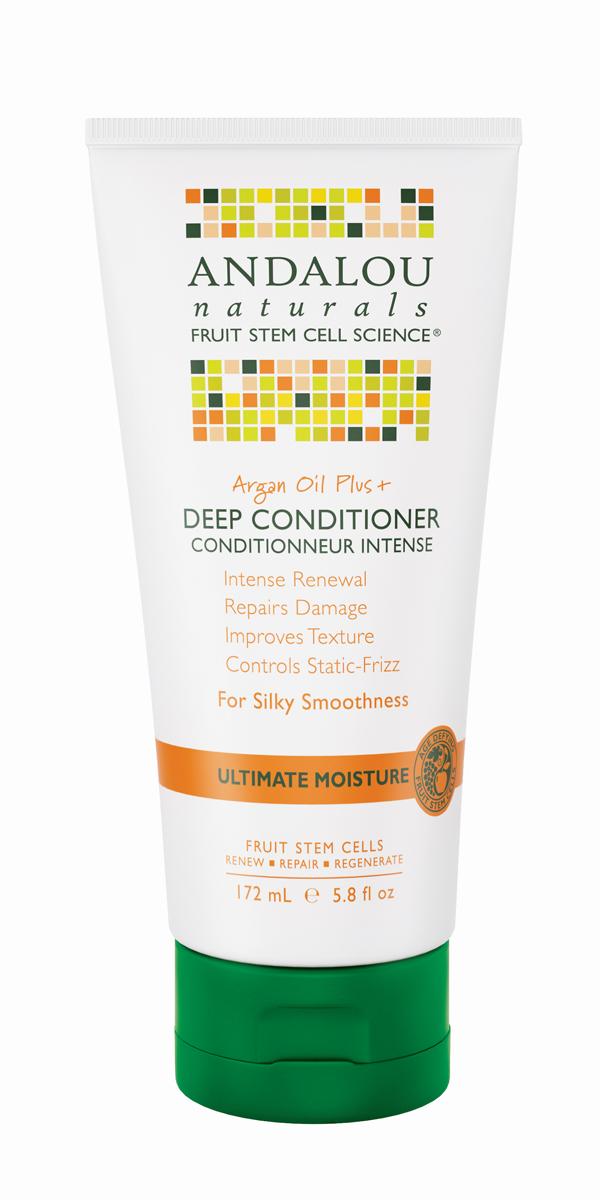 Andalou Кондиционер для восстановления прочности и элластичности волос,172 мл27162Стволовые клетки фруктов™ улучшают жизнеспособность фолликул волос от корней до кончиков. Это новейшее увлажняющее средство помогает обезвоженным, поврежденным и пересушенным волосам. Богатое Омега кислотами Аргановое масло и фруктовые стволовые клетки глубоко питают, восстанавливают волосы. Повышается их прочность и упругость, заметно уменьшается количество секущихся кончиков и перхоти.