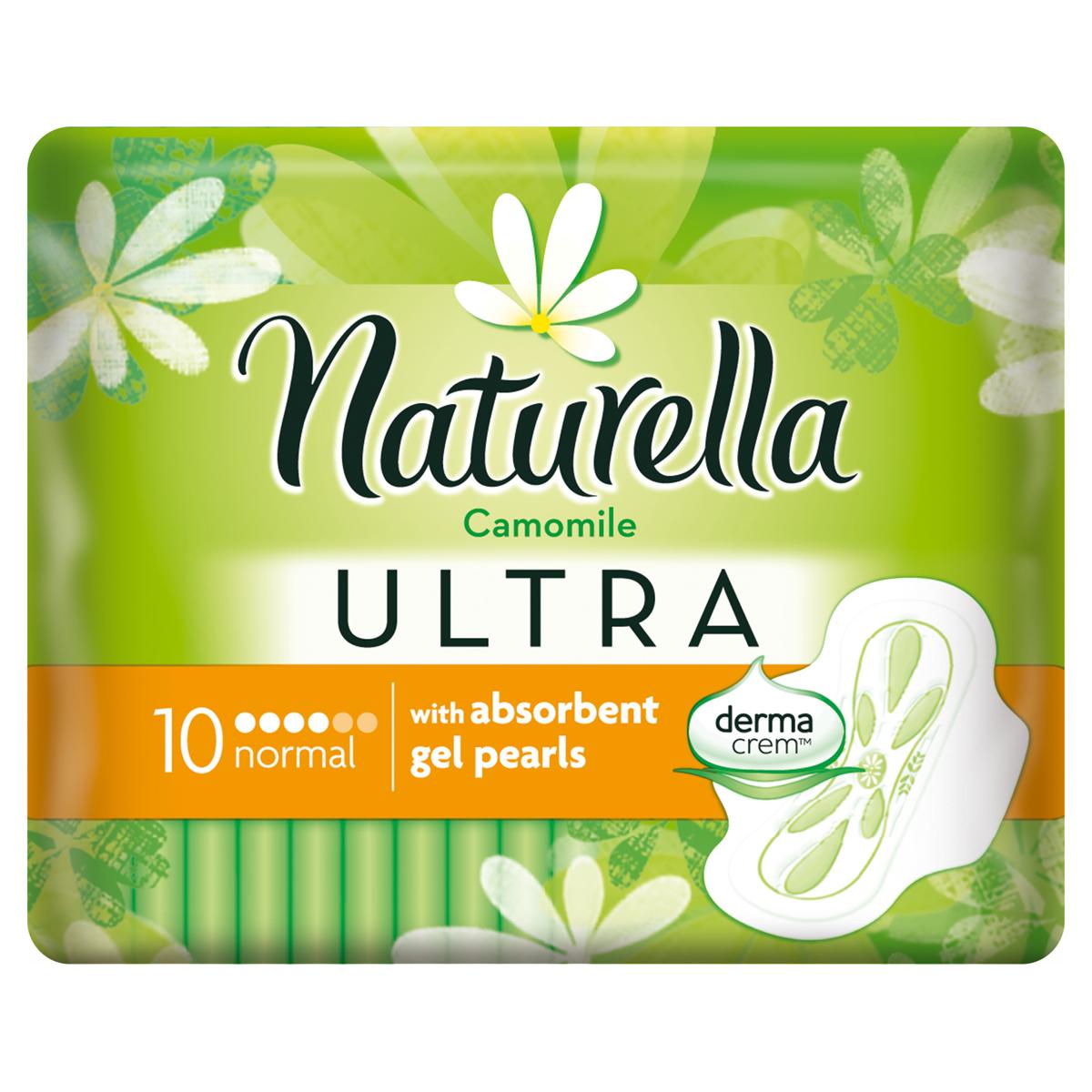 Naturella Ultra Женские гигиенические прокладки Camomile Normal Single 10шт