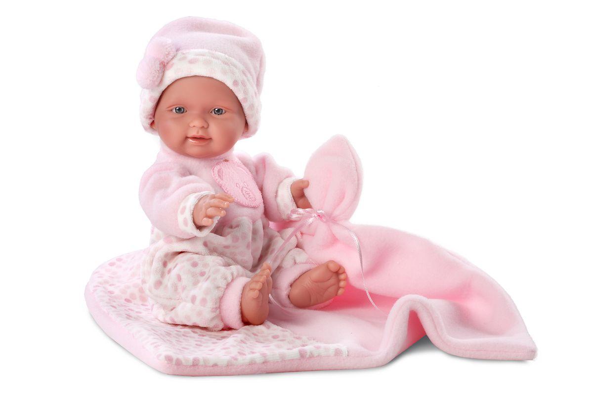 Llorens Кукла Бэбита Роза с одеялом 26 смL 26262