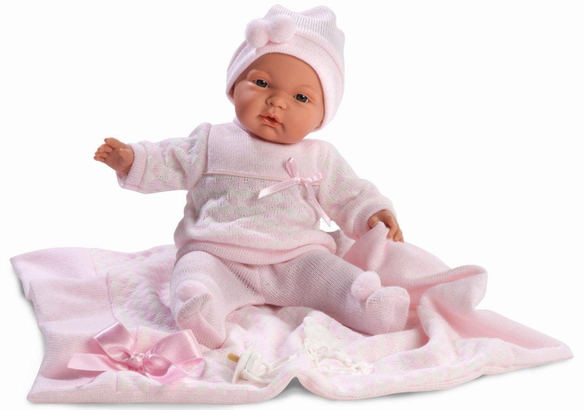 Llorens Кукла Жоэль с одеялом 38 смL 38934