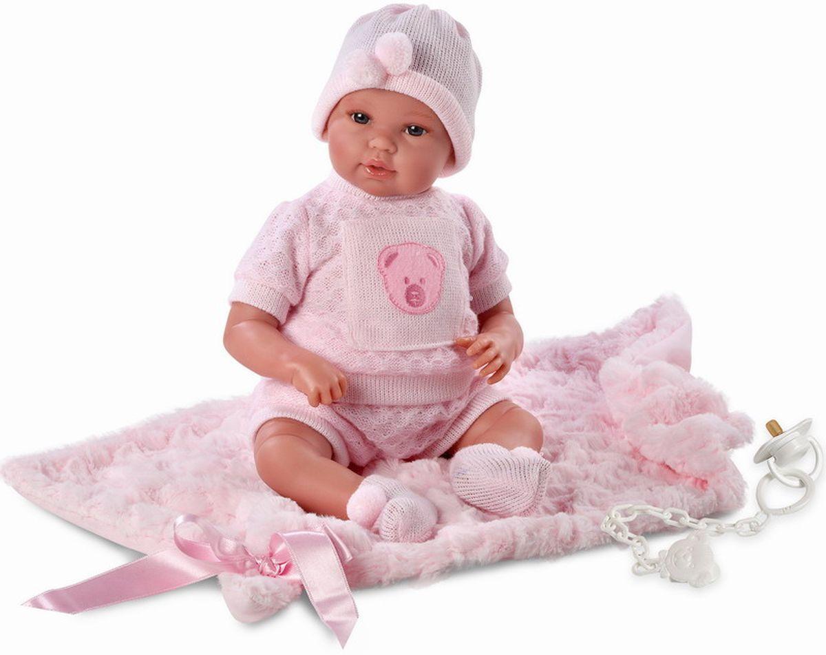 Llorens Кукла-младенец с одеялом 36 смL 63616