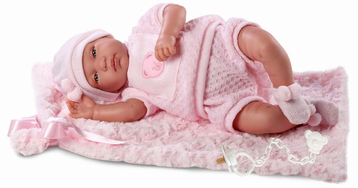 Llorens Кукла-младенец с одеялом 43 смL 84412
