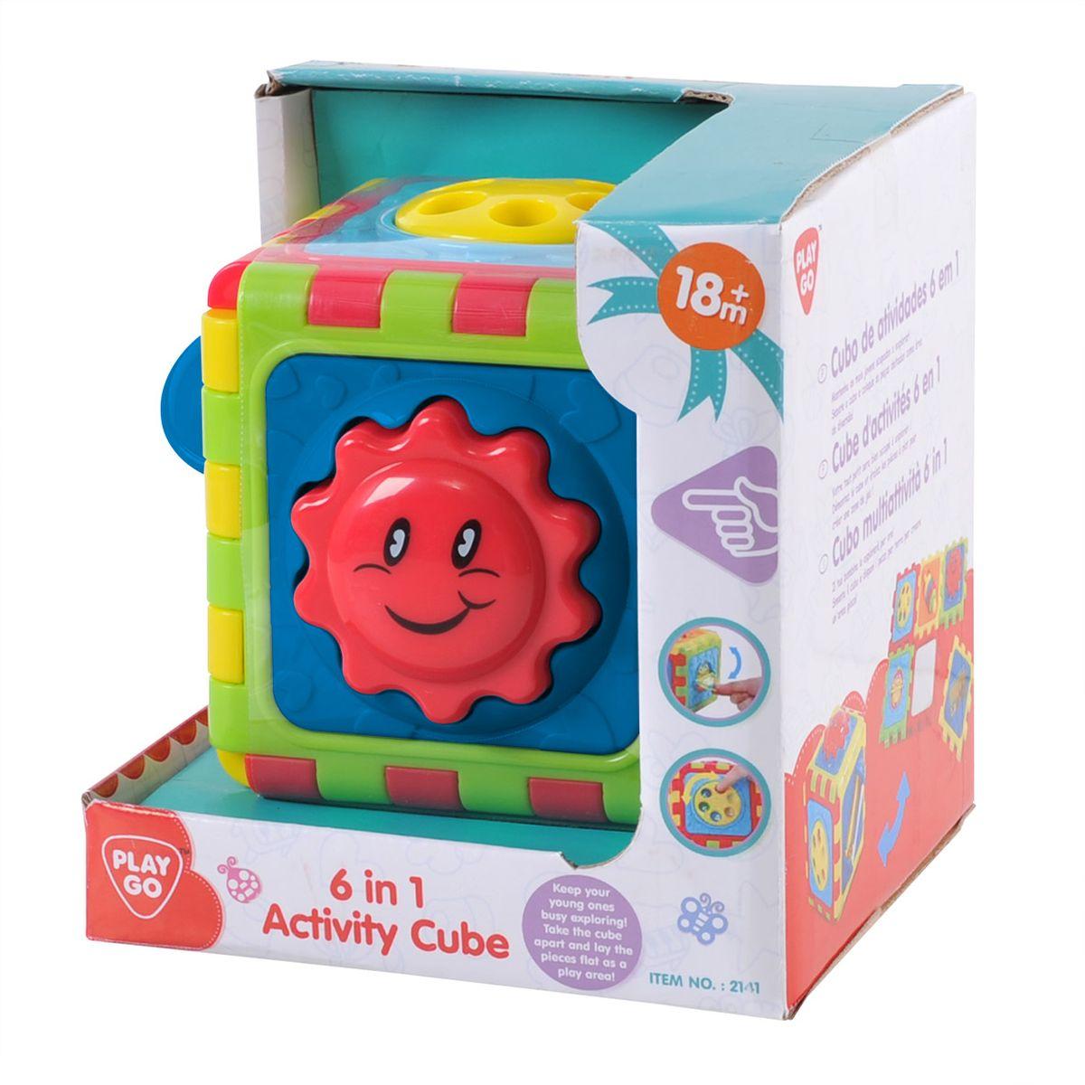 Playgo Развивающая игрушка Куб 6 в 1Play 2141