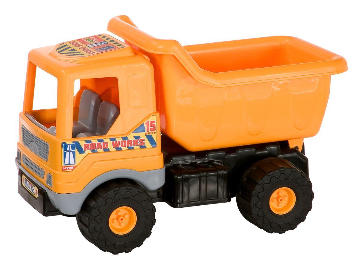 G.B. Fabricantes Игрушка Грузовик01/5164Миленький грузовичок, произведенный компанией «AVC» — это простая игрушка, которая хорошо подойдет для детей самого маленького возраста, так как в ней напрочь отсутствуют острые элементы, способные травмировать малыша. Материал, использованный при изготовлении столь чудной машинки, не имеет токсичных веществ. Каждая модель проходит тщательную проверку перед тем, как выйти в продажу. Грузовичок длиной в 52 сантиметра является оптимальным вариантом для перевозки различных грузов (камушки, палочки и т.д.). Кроме того модель оснащена большими колесами, что обеспечит комфортную поездку по просторной песочнице, если вашему ребенку захочется там поиграть. Грузовичок не станет буксовать и не застрянет в какой-нибудь ямке. Игрушка обладает особой прочностью. Не стоит опасаться, что она развалится в руках после несколько дней эксплуатации. Данная игрушка выполнена в ярком желтом цвете. Такой подарок доставит малышу множество увлекательных часов.