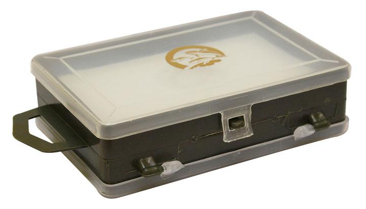 Коробка для хранения мелочей Три кита, двухсторонняя, 11,3 х 7,5 х 3,2 см679535Коробка Три кита прекрасно подойдет для хранения и транспортировки рыболовных снастей, аксессуаров для рукоделия и других мелочей. Коробка имеет 1 отделение и 11 секций, которые плотно закрываются прозрачными крышками. Удобный замок-защелка обеспечивает надежное закрывание органайзера.