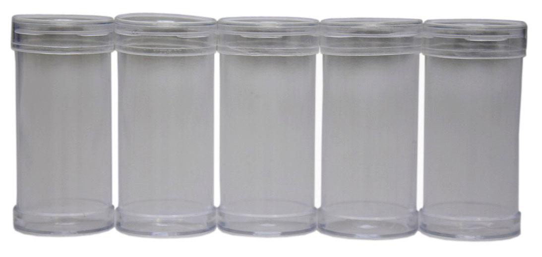 Контейнер для бисера, 5,5х2,5 см, 5 шт7715173