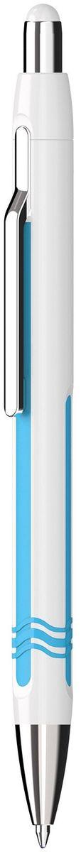 Schneider Ручка шариковая Epsilon XB цвет корпуса белыйS138649-01/3Автоматическая шариковая ручка с инновационным дизайном корпуса. Наконечник, клип и кнопка изготовлены из металла. Три цвета глянцевого корпуса: черный, красный, белый. Синие чернила. Толщина линии XB (1,0 мм).