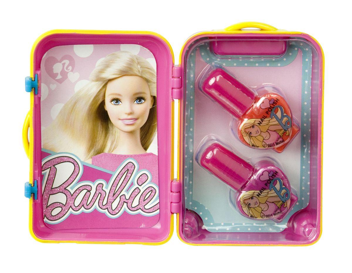 Markwins Игровой набор детской декоративной косметики Barbie 96003519600351С набором Markwins Barbie девочка сможет создать себе яркий, неповторимый образ, дополнив его красивым маникюром! Лаки на водной основе легко наносятся и смываются, цвета очень яркие и насыщенные. Упаковка выполнена в виде гламурного чемоданчика. Детская косметика Markwins создана с соблюдением самых высоких европейских стандартов безопасности. Продукция не содержит парабенов, метилизотиазолинона, пальмового масла. Предназначена для детей от 7 лет. Несмотря на высокое качество продукции и ее общую гипоалергенность, производитель рекомендует проверить индивидуальную реакцию на косметику перед ее использованием. Просто нанесите на кожу немного косметики и подержите 30-60 минут. Если на коже появится покраснение, следует прекратить использование продукции. Эта аллергическая реакция проявляется очень редко и зависит от индивидуальных особенностей организма. Условия хранения: хранить при температуре от +5 до +25 градусов; не допускать попадания прямых солнечных лучей.