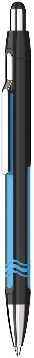 Schneider Ручка шариковая Epsilon XB цвет корпуса черныйS138601-01/3Автоматическая шариковая ручка с инновационным дизайном корпуса. Наконечник, клип и кнопка изготовлены из металла. Три цвета глянцевого корпуса: черный, красный, белый. Синие чернила. Толщина линии XB (1,0 мм).