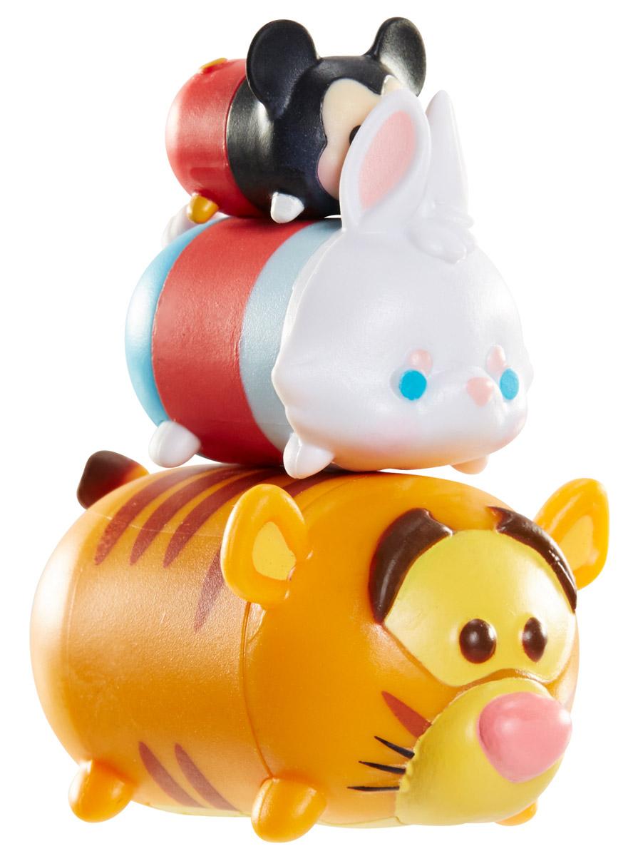 Tsum Tsum Набор фигурок Микки Маус Белый Кролик Тигруля980080_101/138/151Tsum Tsum - это небольшие коллекционные фигурки, изображающие различных персонажей детских мультфильмов Дисней. Они очень яркие, качественно сделаны и выглядят весьма привлекательно. В набор входят 3 фигурки разных размеров. Отличительной особенностью игрушек является то, что их можно сцеплять друг с другом, усаживая на спины - таким образом, у вас получится подобие оригинальной башенки. Соберите целую коллекцию фигурок! В наборе фигурки под номерами 101, 138, 151.